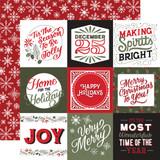 Salutations Christmas: 4x4 Journaling Cards