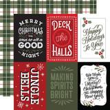Salutations Christmas: 4x6 Journaling Cards
