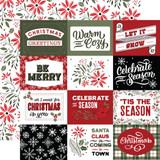 Salutations Christmas: 4x3 Journaling Cards
