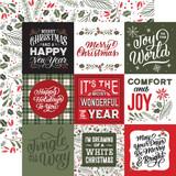 Salutations Christmas: Journaling Squares