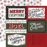 Salutations Christmas: 6x4 Journaling Cards