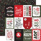 Salutations Christmas: 3x4 Journaling Cards