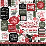 Salutations Christmas Element Sticker