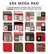 Salutations Christmas Cardmakers 6x6 Mega Pad