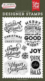 Salutations Christmas: Santa Claus Stamp Set