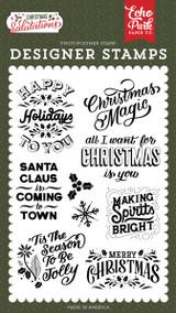 Salutations Christmas: Making Spirits Bright Stamp Set