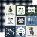 Welcome Winter: 4x4 Journaling Cards