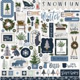 Welcome Winter Element Sticker