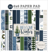 Welcome Winter 6x6 Paper Pad