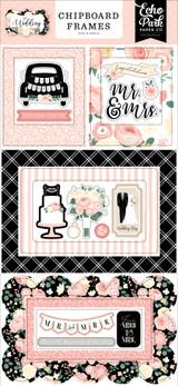 Wedding 6x13 Chipboard Frames