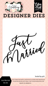 Wedding: Just Married Die Set