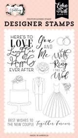 Wedding: Here's To Love Stamp Set