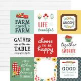 Sunflower Market: 4x4 Journaling Cards