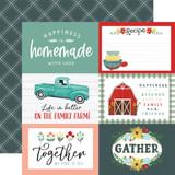 Sunflower Market: 6x4 Journaling Cards