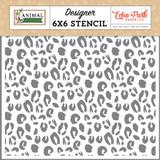 Animal Kingdom: Cheetah 6x6 Stencil