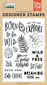 Animal Kingdom: Born To Be Wild Stamp Set