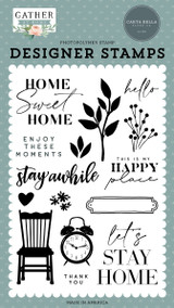 Gather At Home: Enjoy These Moments Stamp Set