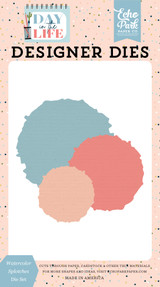 Day In The Life: Watercolor Splotches Die Set