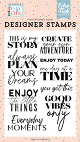Day In The Life: This Is My Story Stamp Set