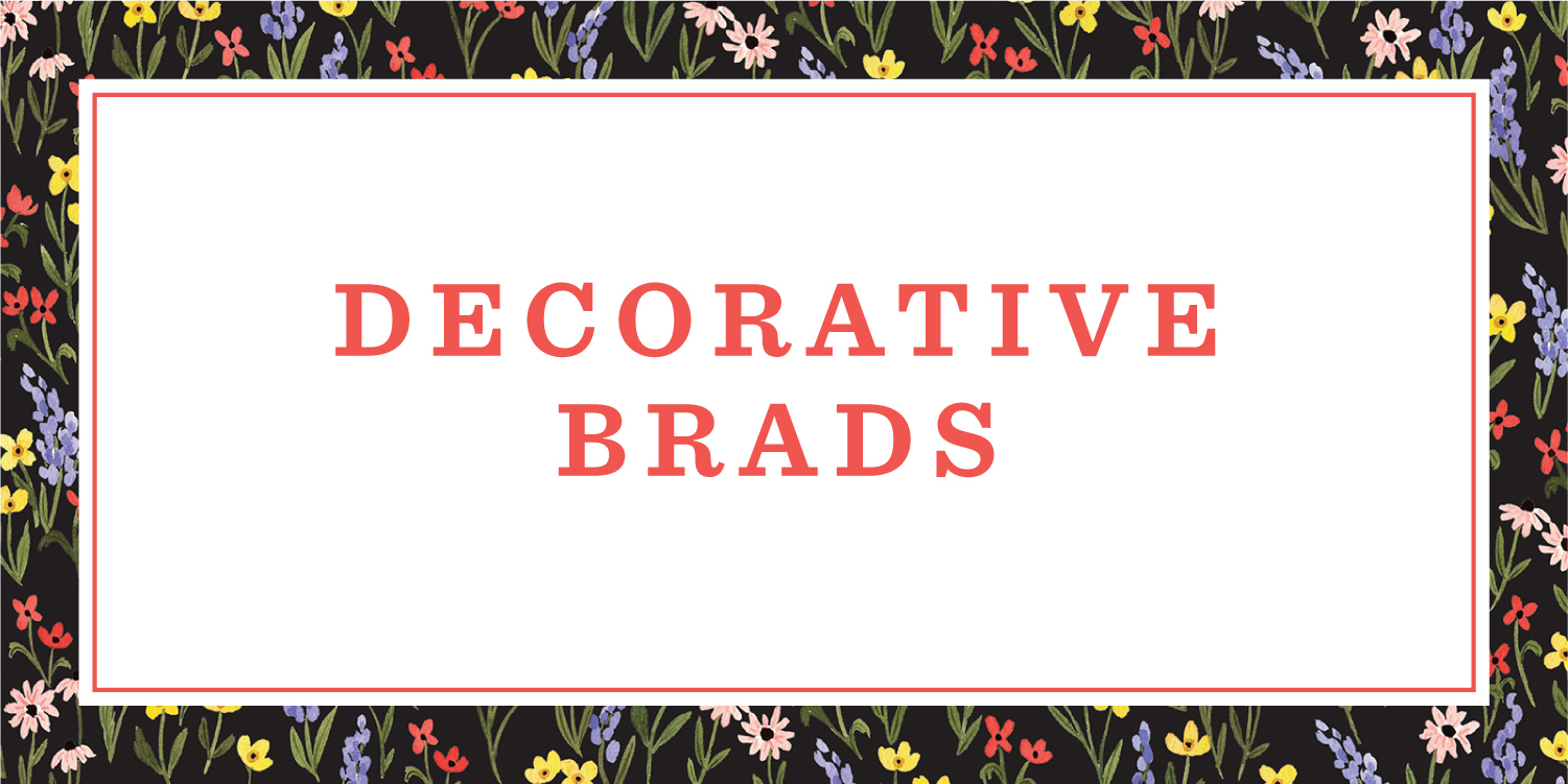 Decorative Brads