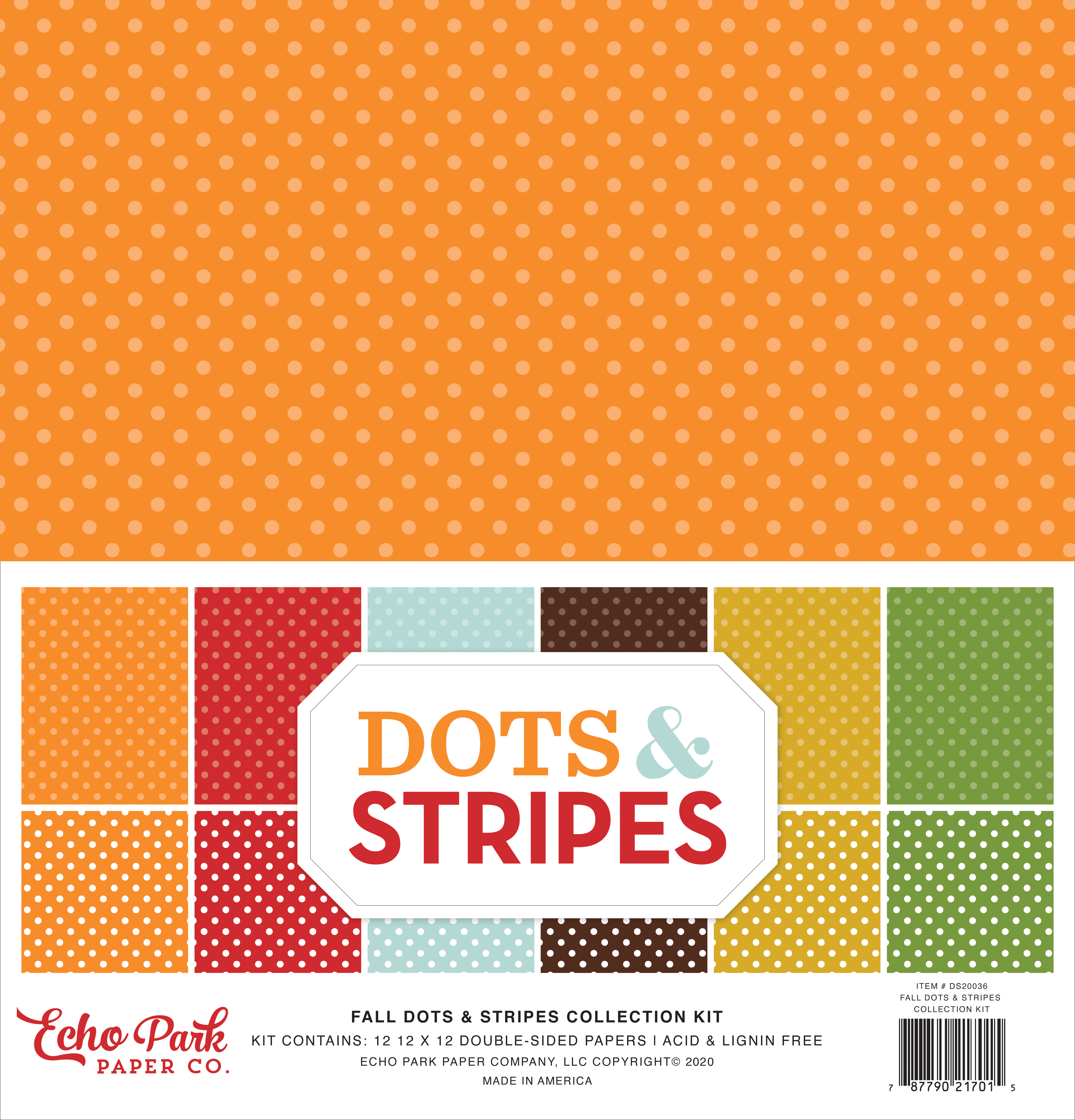 Fall Dots & Stripes