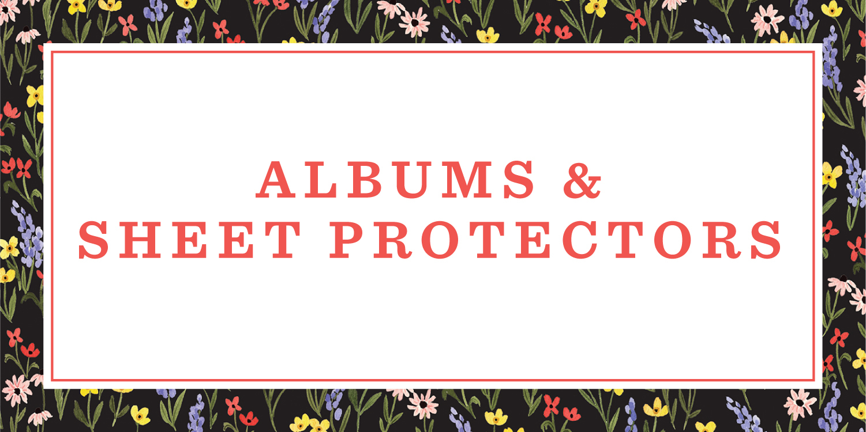 Albums & Sheet Protectors