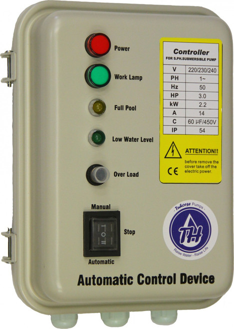 3HP 1Ph control box