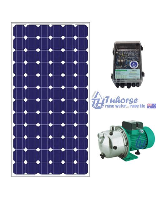 Solar pressure pump package