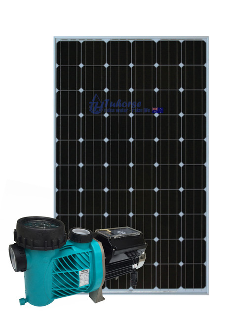 Solar Pool Pump with 800w solar panels package
