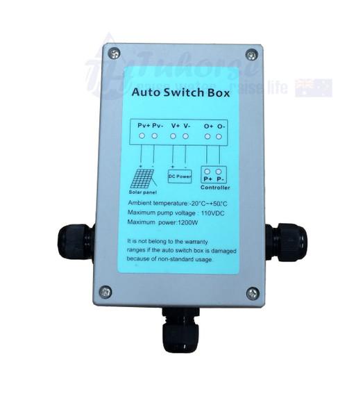 Auto Solar Panel/DC Converter Switch