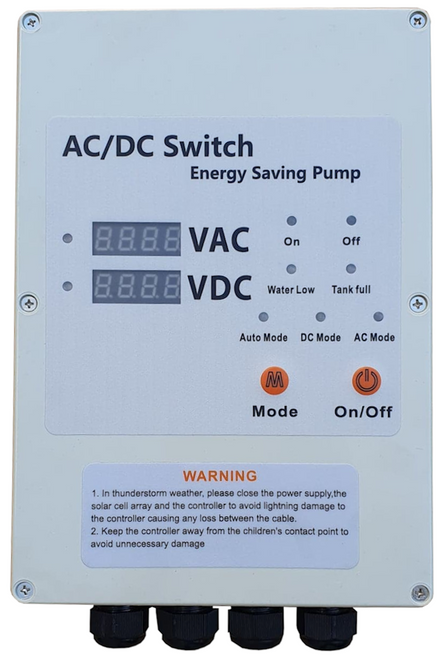 Hybrid Solar Pump Switch Box
