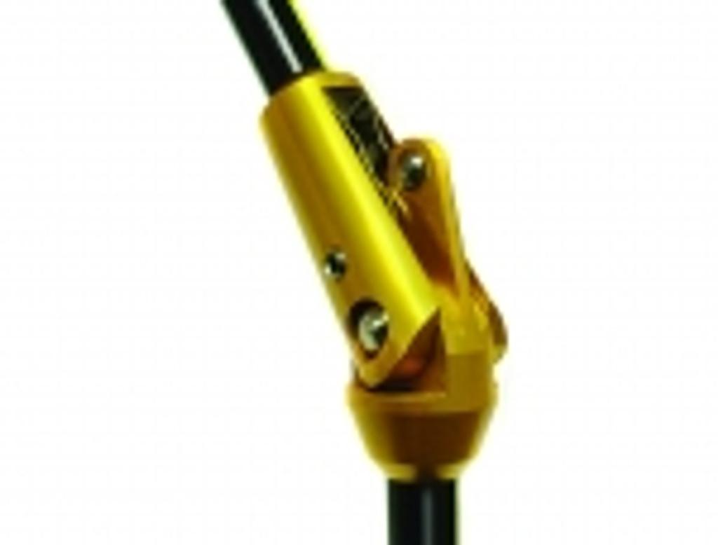 Refiner Dual adjustable hinge