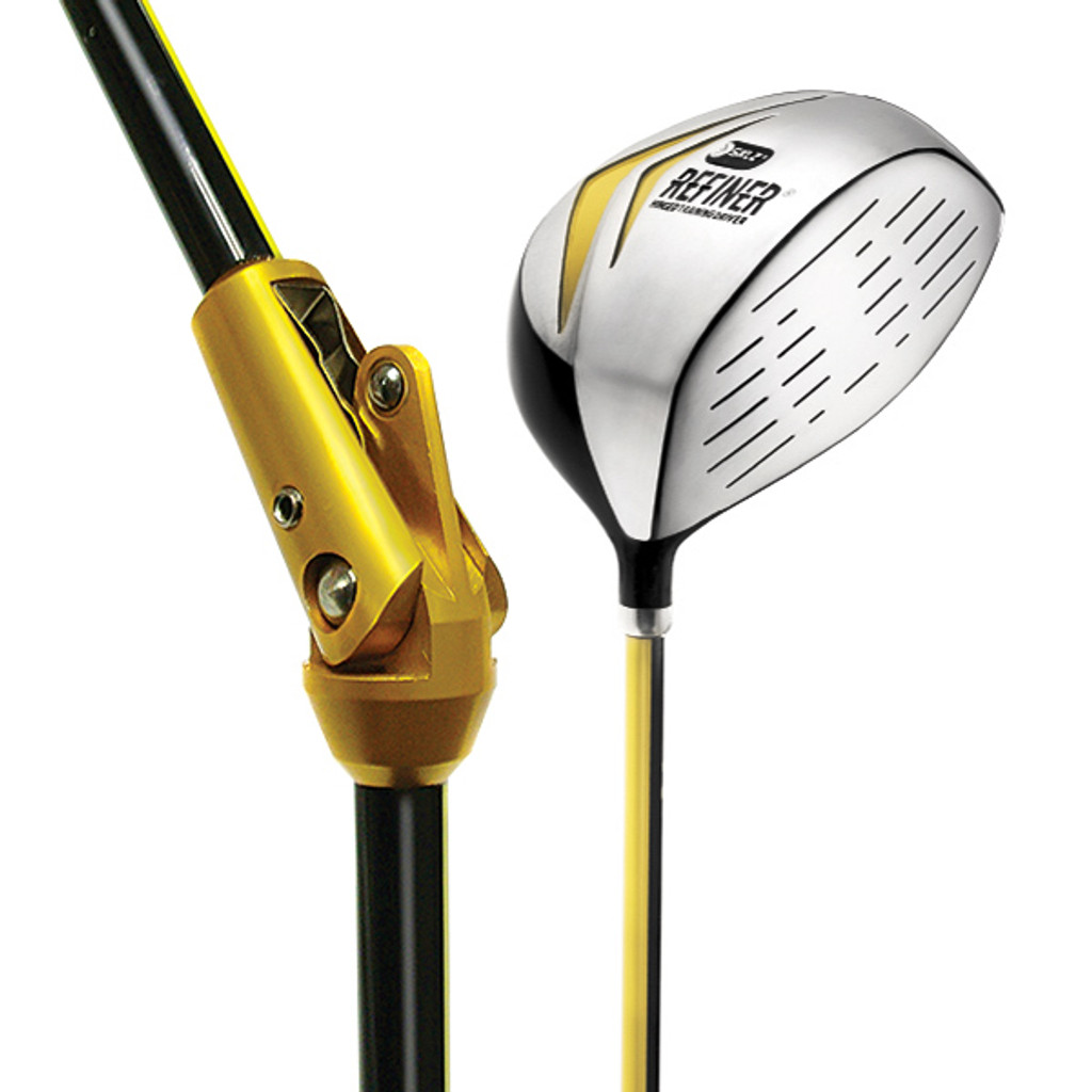 460 cc graphite hinged golf swing aid