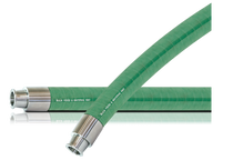 FDA Rubber Materials Handling Hose Assembly (Tri-Clamp x Tri-Clamp)