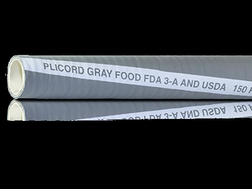 Gray Plicord® FDA Food Hose
