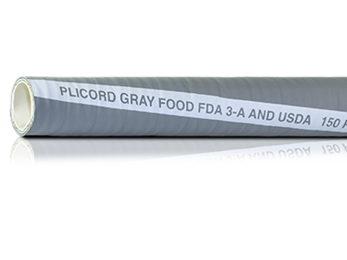 Gray Plicord® FDA Food Hose