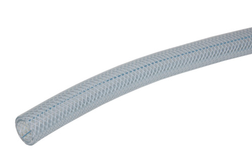 Heavy Wall Clear PVC FDA Braided Tubing