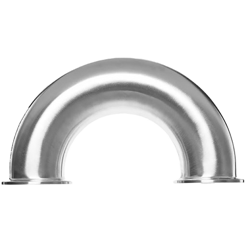 180° Bend Tri-Clamp Fitting - 316L Stainless Steel