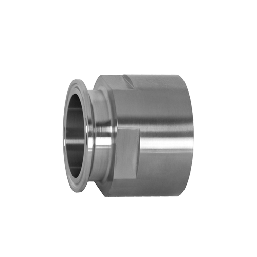 1 IN X 3/4 IN NPT 316 Stainless Clamp x Female NPT Hose Adapter