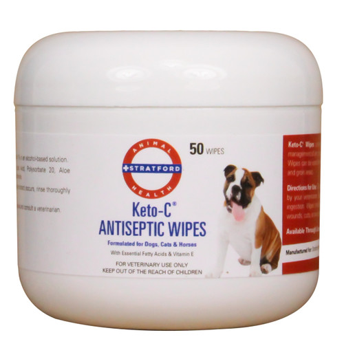 Keto-C Antiseptic Wipes (50 count)