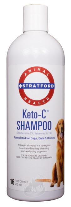 Keto-C Shampoo (16 oz)