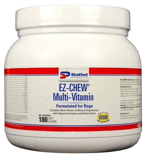 EZ-CHEW Multi-Vitamin Soft Chews for Dogs (180 count)