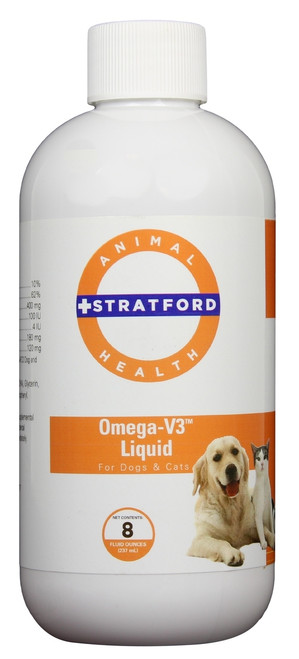 Omega-V3 Liquid for Dogs & Cats (8 oz)