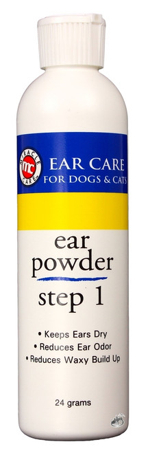 Ear Care Powder [Step 1] for Dogs & Cats (24 g)