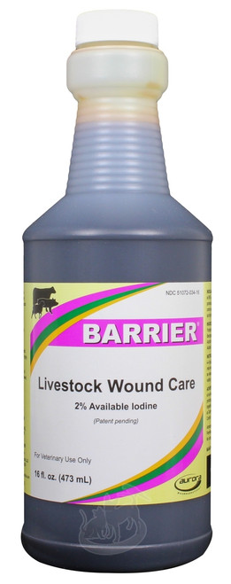 Barrier Livestock Wound Care Spray (16 oz)