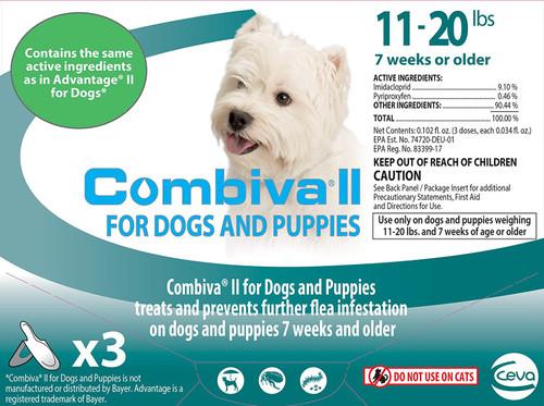Combiva II Medium Dog and Puppy [11 - 20 lbs] (3 count)