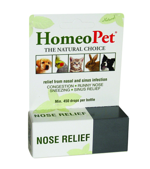 HomeoPet Nose Relief (15 mL)