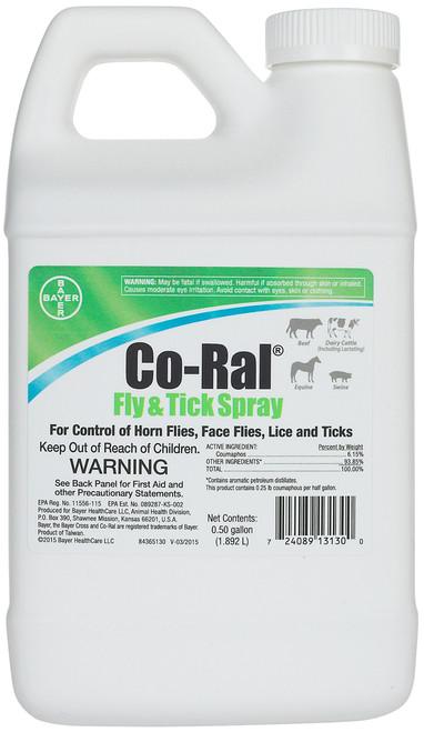 Co-Ral Fly & Tick Spray (1/2 Gallon)