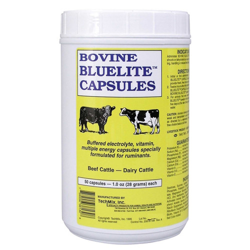 BlueLite Bovine Electrolyte Capsules (50 count)