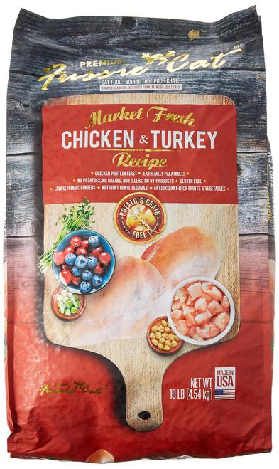 FUSSIE Cat Food Chicken & Turkey (10 lb)
